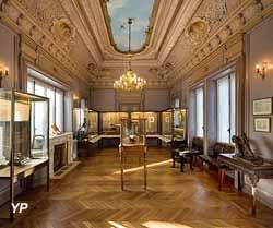 Musée de la Batellerie et des Voies Navigables - château du Prieuré (Beylard Ferrier Luc - Agence Photo F)