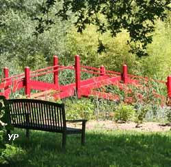 Jardins du Loriot - Le Pont Moulin Joli (J. Chaplain)
