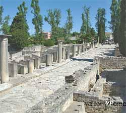 Sites archéologiques de Puymin et de la Villasse - Rue des Boutiques (Ville de Vaison-la-Romaine)