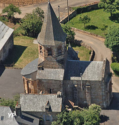 Église d'Aboul (Office de Tourisme des Hautes Terres d'Aveyron)