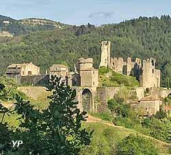 Château-citadelle de l'Ardèche (Benoît Aubry)