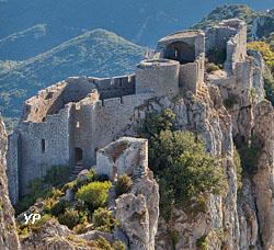 Château de Peyrepertuse (Commune de Duilhac sous Peyrepertuse)