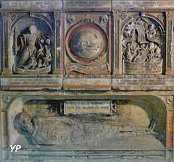 Église Saint-Didier - monument funéraire - Miroir de la mort (1535)