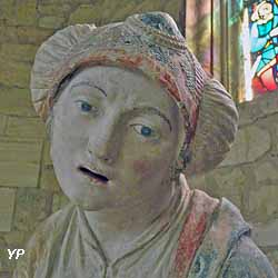 Église Saint-Didier - Sainte femme au bonnet (attribuée à Ligier Richier, XVIe s.) (H. Philippe)