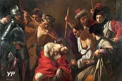 Couronnement d'épines (Bartolomeo Manfredi, 1615)