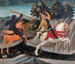La mort d'Absalon (Francesco di Stefano, dit Pesellino)
