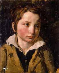 Portrait présumé d'Olivier Bro (Théodore Géricault, 1818)