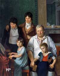 Portrait de famille d'un conventionnel, dit autrefois