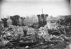 Explosion de l'atelier de chargement d'obus à Yzeure (février 1918)