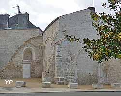 Vestiges de l'église Saint Hermand (Mairie de Sainte-Hermine)