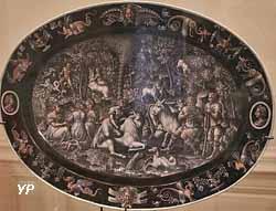 L'enlèvement d'Europe (plat, Jean Court, Limoges 1570)