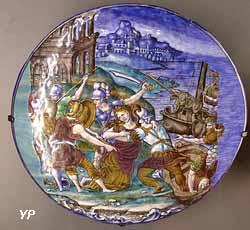 L'enlèvement d'Elène (Pierre Courteys,  vers 1550)