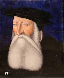 Portrait de Galiot de Genouillac (émail, Léonrd Limosin, vers 1540)