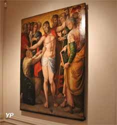 L'Incrudilité de saint Thomas (huile sur bois, Léonard Limosin, 1551)