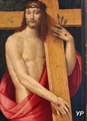 Le Christ ressuscité portant la Croix (Andrea Piccinelli, dit Il Brescianino, vers 1510)