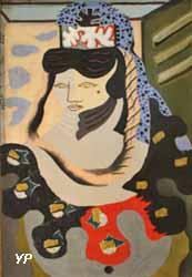 La jeune Turque (huile sur toile, Jean Lurça, 1925)