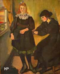 La Couturière (Suzanne Valadon, 1914)