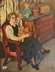 Portrait de Miss Lily Walton (Suzanne Valadon, 1922)