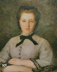Portrait de Marie-Zélie Laporte (Auguste Renoir, 1864)