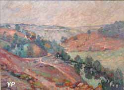 Paysage de la Creuse (Armand Guillaumin, 1908)
