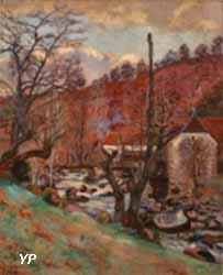 Le Moulin de la Folie à Crozant (Armand Guillaumin)