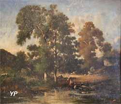 Environs de Saint-Junien (Léon-Victor Dupré, 1860)