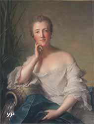 Portrait présumé de la marquise de Boufflers (Jean-Marc Nattier)