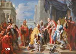 Les Mages aux pieds d'Hérode (Carle Van Loo)