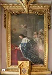 Saint Louis recevant la couronne d'épines (Joseph Benoît Suvée, 1772)