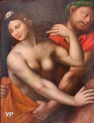 Tarquin et Lucrèce (Giovanni Ricci, dit Giampietrino)