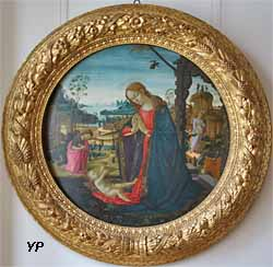 Vierge à l'Enfant avec saint Jean-Baptiste (Jacopo del Sellaio)