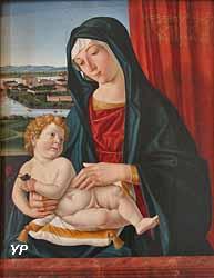Vierge à l'Enfant avec une rose (attribué à Cima da Conegliano)