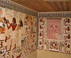 Reproduction de la tombe du scribe Nakht