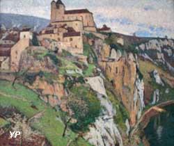 Saint-Cirq-Lapopie (Henri Martin)