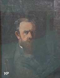 Autoportrait en buste (Odilon Redon)