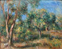 Paysage de Cagnes (Pierre-Auguste Renoir)