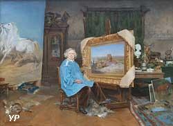 Rosa Bonheur dans son atelier (Georges Achille-Fould)