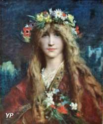 Ophélie (Jules-Elie Delaunay)