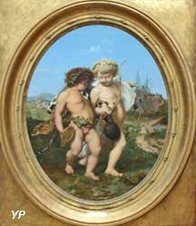 Bacchus et l'Amour ivres (Jean-Léon Gérôme)