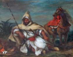 Cavalier de la garde du sultan du Maroc (Eugène Delacroix)