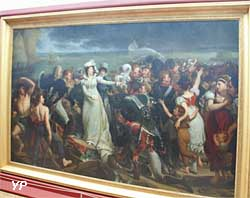 Embarquement de la duchesse d'Angoulême à Pauillac (Baron Eugène-Jean Gros)