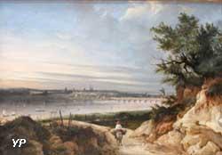 Vue de Bordeaux prise de Floirac (Jean-Paul Alaux)