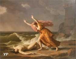 Héro et Léandre (Jean-Joseph Taillasson)