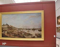 Vue d'une partie du port et des quais de Bordeaux (Pierre Lacour)