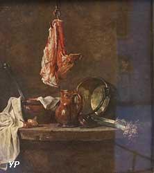 Nature morte aux morceaux de viande (Jean-Baptiste Siméon Chardin)