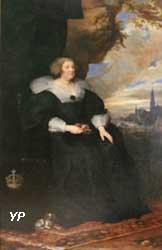 Portrait de Marie de Médicis (Anton van Dyck)