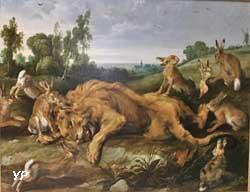 Le Lion mort (Frans Snyders)