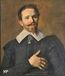 L'homme à la main sur le coeur (Frans Hals)