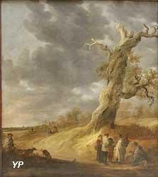 Le Chêne foudroyé, ou la Diseuse de bonne aventure (Jan Josefsz, van Goyen)
