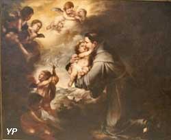 Saint Antoine de Padoue adorant l'Enfant Jésus (Bartolome Esteban Murillo)